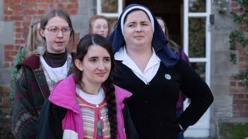 Sister Michael pictured right