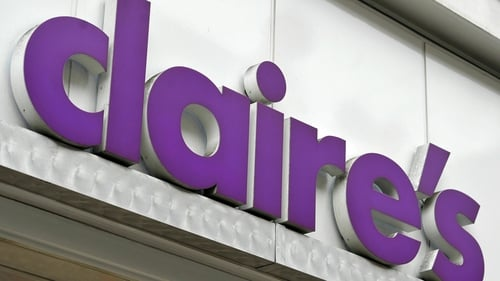 Claire's said it had removed the three products from its stores