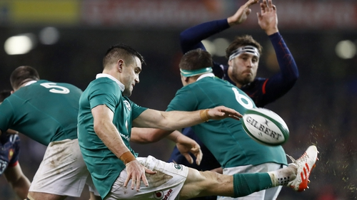 Conor Murray's kicking game has been poor in the championship to date