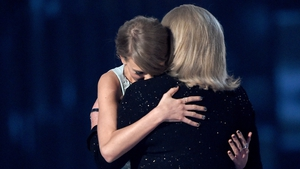 "Taylor and Andrea Swift - (pictured at the 50th Academy of Country Music Awards in Arlington, Texas in April 2015) - ""I used to be so anxious about daily ups and downs. I give all of my worry, stress, and prayers to real problems now"""