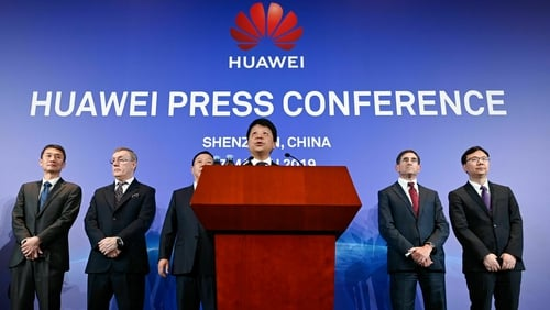 China's Huawei sues US over federal ban on its products