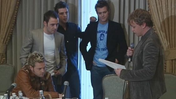 Westlife press conference, Dublin (2004)