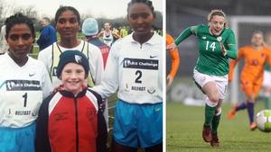 Amber Barrett's moment was meeting three Ethiopian runners