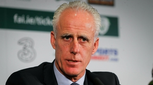 Mick McCarthy said he was confident that Patrick Bamford would accept an Irish call-up in the near future