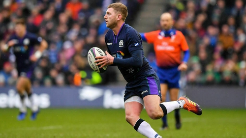 Finn Russell now poised to earn his 50th cap