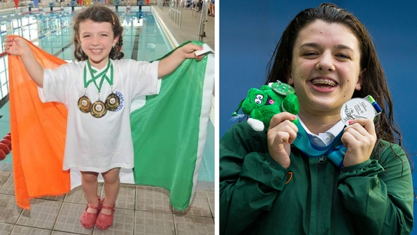 Attending the World Dwarf Games in Belfast as a child encouraged Nicole Turner to pursue swimming