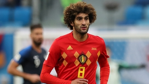 Fellaini was part of the Belgium team which came third in last year's World Cup