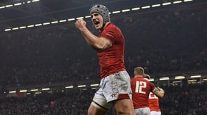 Davies scored two tries in Wales' win over England