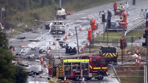 11 men died when Andrew Hill's Hawker Hunter jet crashed