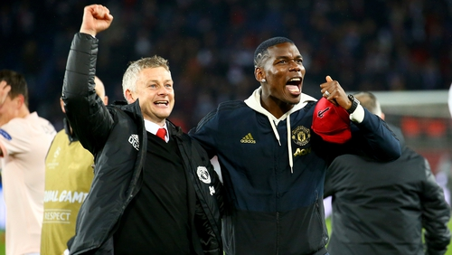 Solskjaer has been central to improving the form of record signing Paul Pogba