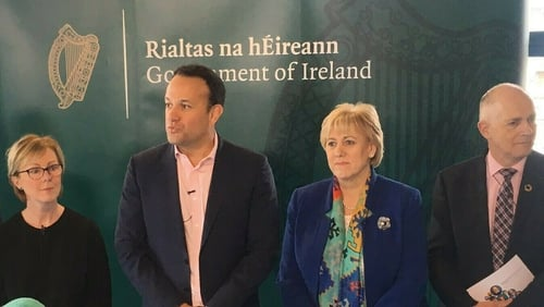 Taoiseach and his ministers met at Cabinet this morning