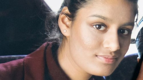 Shamima Begum, who joined the so-called Islamic State as a schoolgirl, said she was 'brainwashed'