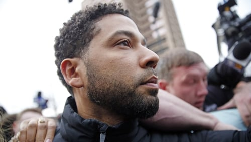 Grand jury indicts actor Jussie Smollett on 16 felony counts