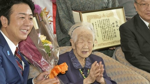 Japanese woman is world's oldest living person at 116
