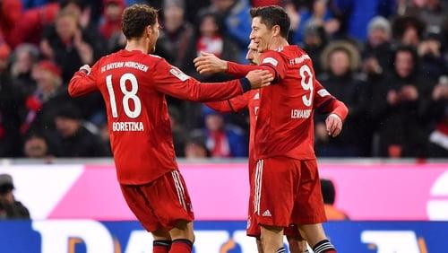 Bayern back on top of Bundesliga as Liverpool loom