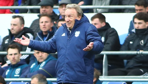 'When you get relegated the manager's position is usually in doubt'