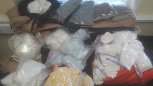 The drugs were recovered last night at a house in Navan