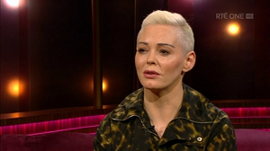 Rose McGowan on The Ray D'Arcy Show