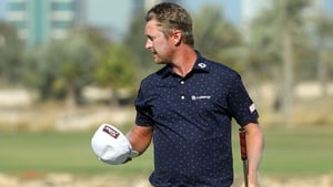 Justin Harding birdied three of the last four holes in a closing 66