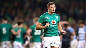 Larmour will start at full-back for Ireland