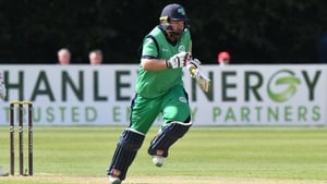 Paul Stirling notched a half-century