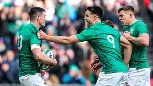 In what was their penultimate competitive game before the World Cup, Ireland had to stump up