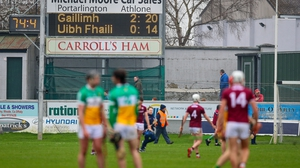 Offaly slipped into Division 2 this spring