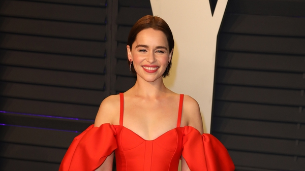 """Emilia Clarke: """"It might as well have been raining and I would've just walked in it not knowing what to do."""""""