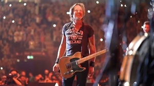 Keith Urban onstage at Dublin's 3Arena Screenshot: Keith Urban/Twitter