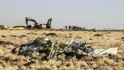 All 157 people on board the flight died in the crash
