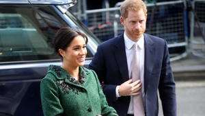 The soon-to-be mum appeared with Harry in London to mark the event, Katie Wright reports.