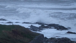There is a risk of coastal flooding in areas where high seas are expected