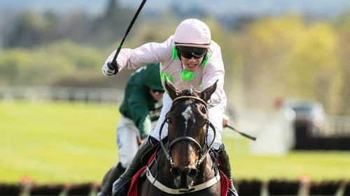 Paul Townend rode Benie Des Dieux to victory in the Mares Champion Hurdle at Punchestown last spring