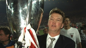 Van Gaal's crowning achievement was winning the Champions League with Ajax in 1995