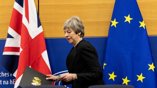 Theresa May will hope to get the new deal through parliament