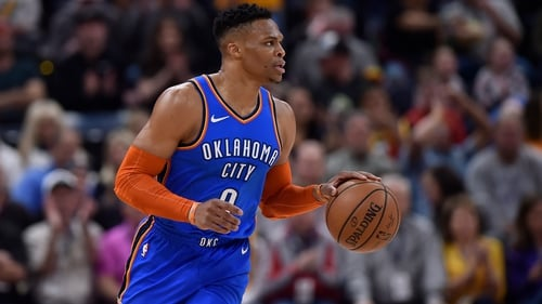 National Basketball Association  star Russell Westbrook fined, fan banned after allegation of racial taunt