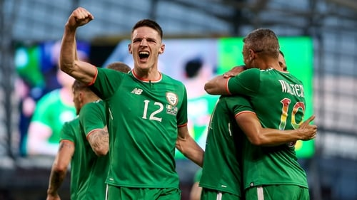 Declan Rice will not be in Dublin to collect his award this weekend