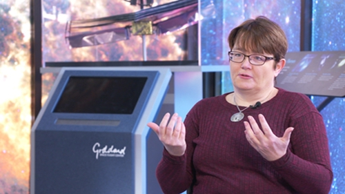 Dr Julie McEnery works as an astrophysicist at NASA's Goddard Space Centre