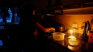 Could this be the winter of cooking by candlelight?