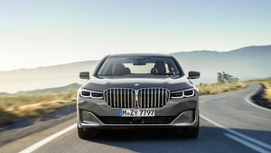 BMW's new 7 Series is one of the cars being fitted with hybrid plug-in technology.
