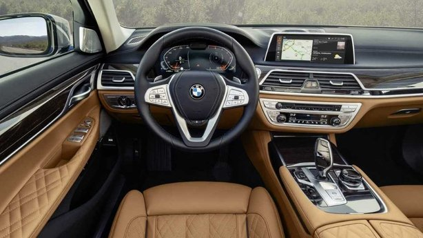 BMW car interior
