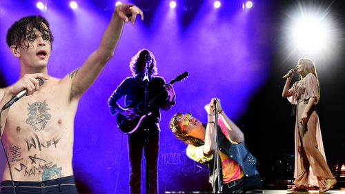 (L-R) The 1975, Hozier, The Strokes, Florence + The Machine - Headlining the sold-out festival at Stradbally Hall, Co Laois from August 30 to September 1