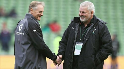 Joe Schmidt and Warren Gatland will pit their wits against each other for the final time in the Six Nations this weekend