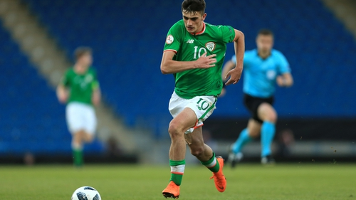 Troy Parrott has made significant progress at Tottenham Hotspur and is still eligible for the Ireland U17s