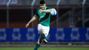 Out-half Harry Byrne missed the win over France through injury