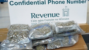The herbal cannabis was found in two parcels sent from the US and Canada