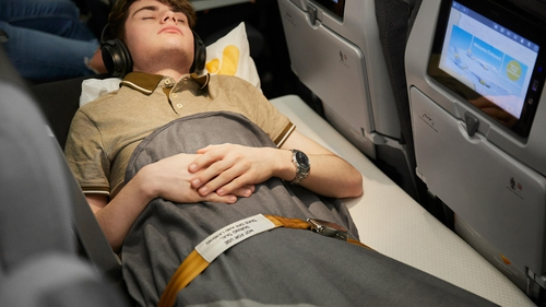 Thomas Cook Airlines is offering the new Sleeper Seat for anyone who struggles to get enough rest on long-haul flights.