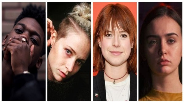 Ones to watch (L to R): Jafaris, Niamh Algar, Jessie Buckley and Natalya O'Flaherty