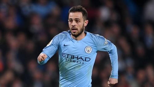 Man City's Bernardo Silva suspended one game after tweet to teammate