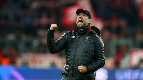 Jurgen Klopp heaped praise on his side after their 3-1 win over Bayern Munich this evening